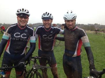 Three Muddy Riders